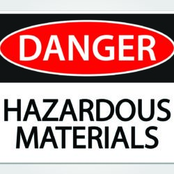 Storage of hazardous materials