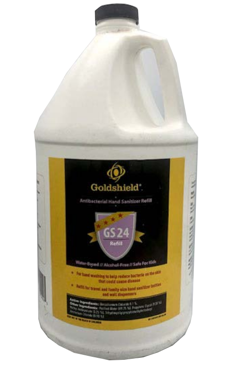 Goldshield GS24 Antiseptic Hand Sanitizer