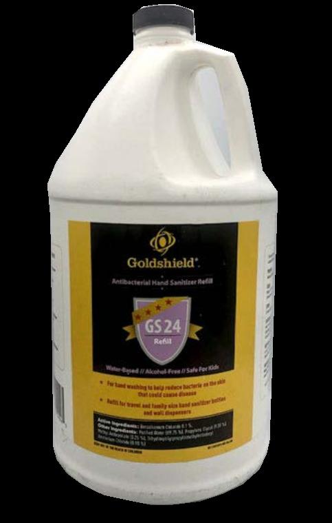 Goldshield GS24 Antiseptic Hand Sanitizer